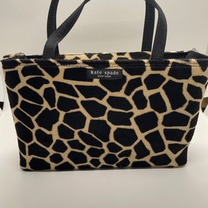 Vintage Kate Spade Mini Sam Bag Cheetah …